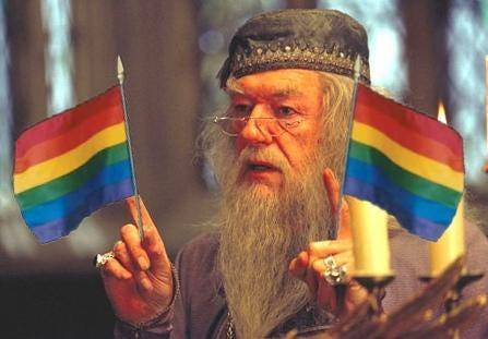 albus dumbledore gay amour sincere