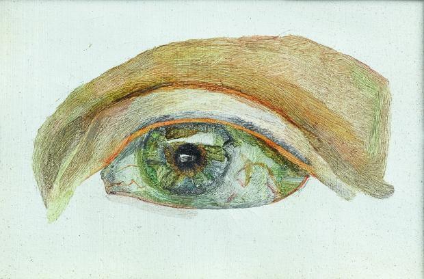 Lucian Freud Cat Eye