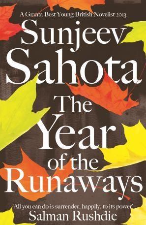 Sunjeev Sahota's , The Year of the Runaway.jpg