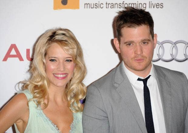 Michael buble s son noah rushed to hospital with serious burns the
