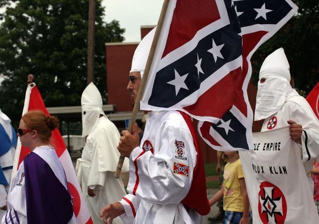the success of the original ku klux klan a racist organization