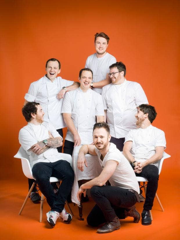 How fine dining got funky seven young chefs have transformed how fine dining got funky seven young chefs have transformed londons restaurant scene fandeluxe Images