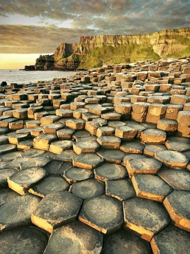 Is Giant S Causeway Natural