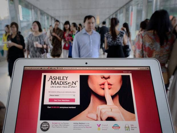 Ashley Madison hack: Just three in every 10,000 female accounts on  infidelity website are real