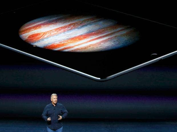 iPad Pro: Apple launches huge new tablet with Apple Pencil ...