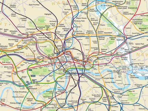TfL forced to reveal secret geographically accurate London Tube