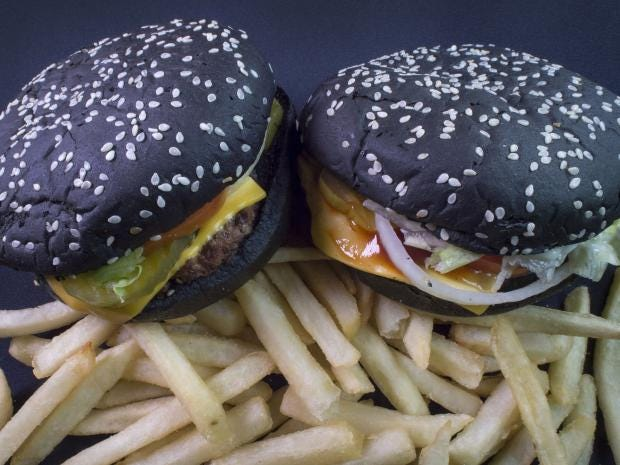 Burger King's black Halloween Whopper has an unexpected side ...