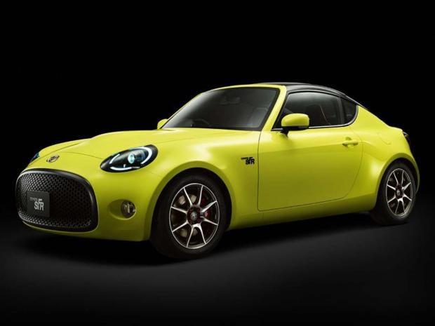 Toyota SFR sports car concept Company prepares new lightweight