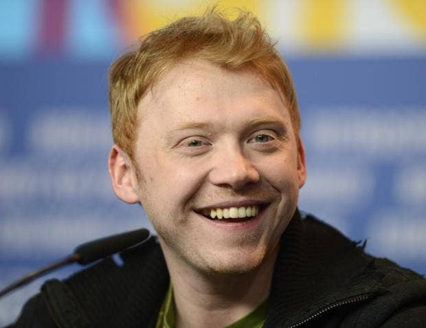 rupert grint online dating Rupert grint might be widely thought of as one of the luckiest guys in the world but the actor has revealed that he really, really didn't want to kiss emma watson in harry potter.