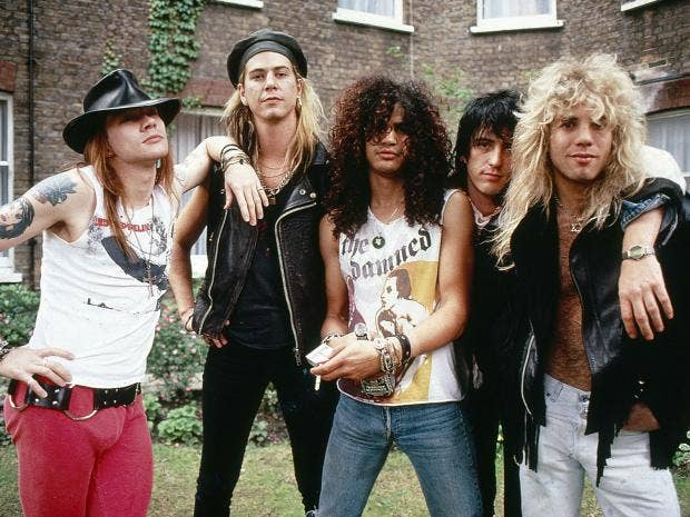 guns n 39 roses made over 100 million on their not in this lifetime tour the independent. Black Bedroom Furniture Sets. Home Design Ideas