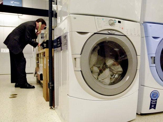 Person Tumble Dryer ~ Tumble dryer fires spark indesit hotpoint and creda