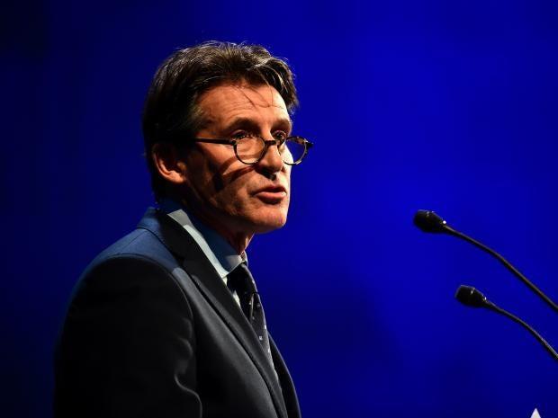 IAAF president Sebastian Coe Getty Images
