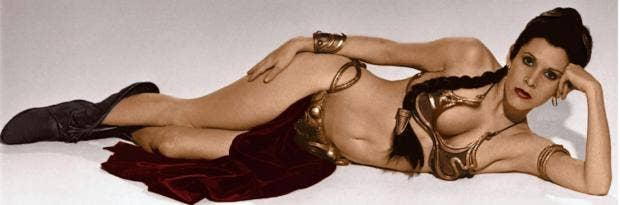 Slave leia upskirt photos