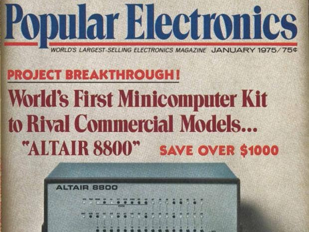 Popular Electronics magazine, January 1975: Rhodri Marsden's Interesting Objects No.92  The