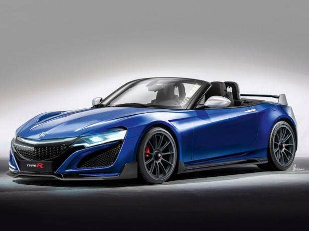 Honda re-joins sports car market with new S2000