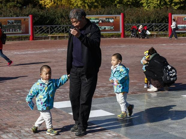 Fertility Rate Rising in China Under Two-Child Policy