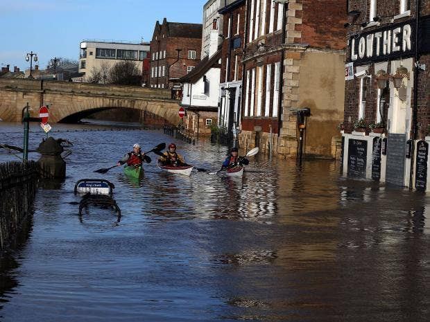 Uk Flooding How A Yorkshire Town Worked With Nature To