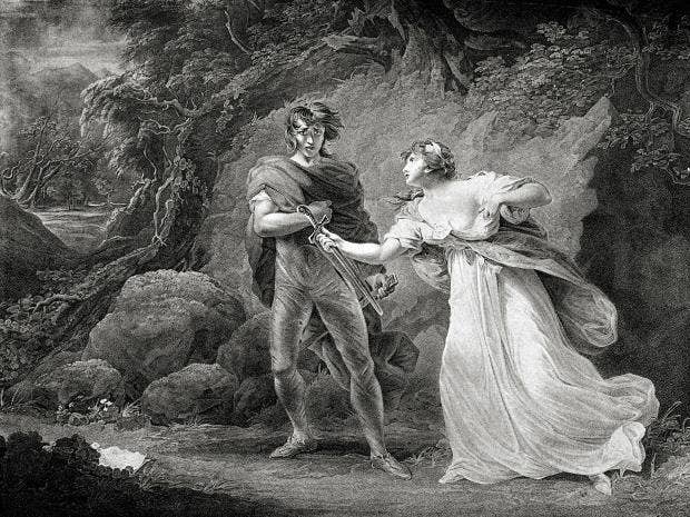 an analysis of hamlets treatment of ophelia in the play hamlet by william shakespeare Hamlet who, i ophelia ay, my lord what do you call the play hamlet the mouse-trap marry, how 'tis hamlets character 'naked.