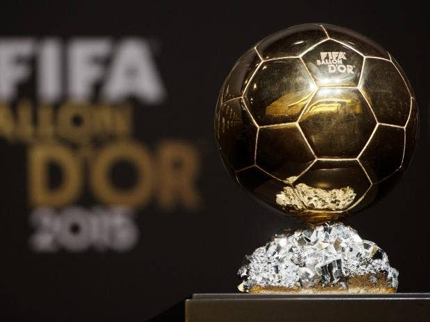 The Ballon d\u0027Or trophy Getty Images & Ballon d\u0027Or 2015 - as it happened: Lionel Messi beats Cristiano ...