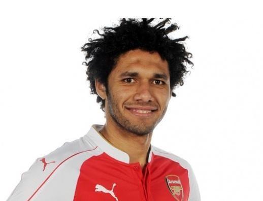 نتيجة بحث الصور عن Egyptian Mohamed Elneny, Arsenal F.C. player.