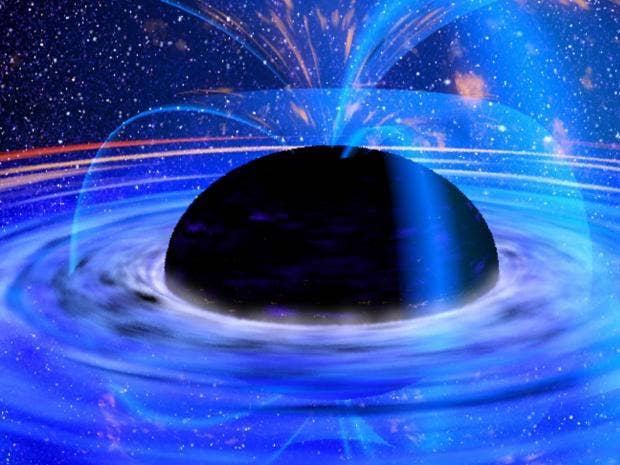 'Hairs' on black holes could contain information about the ...