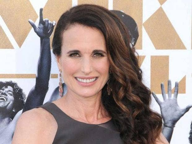 Andie MacDowell defends her complaint about being bumped