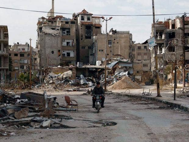 Syria civil war prospect of saudi incursion raises fears of a harasta fandeluxe Images
