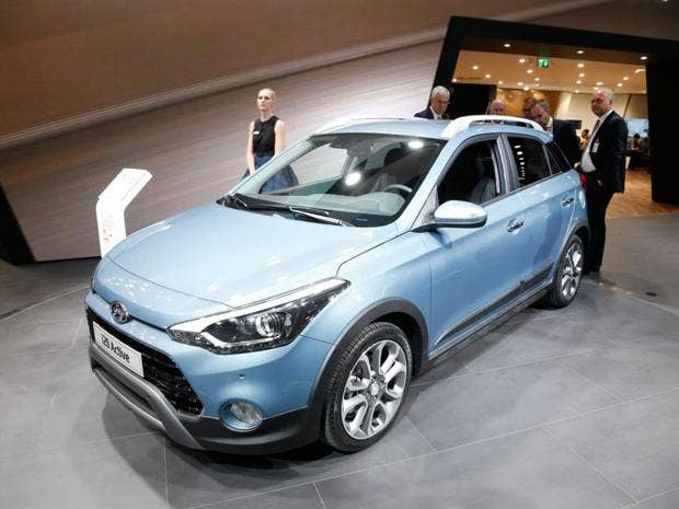 Hyundai Active On Sale Next Month Suv Styled Supermini Set