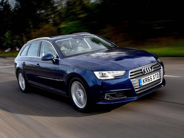 audi a4 avant 2 0 tdi 150 ultra sport car review offering economy and style the independent. Black Bedroom Furniture Sets. Home Design Ideas