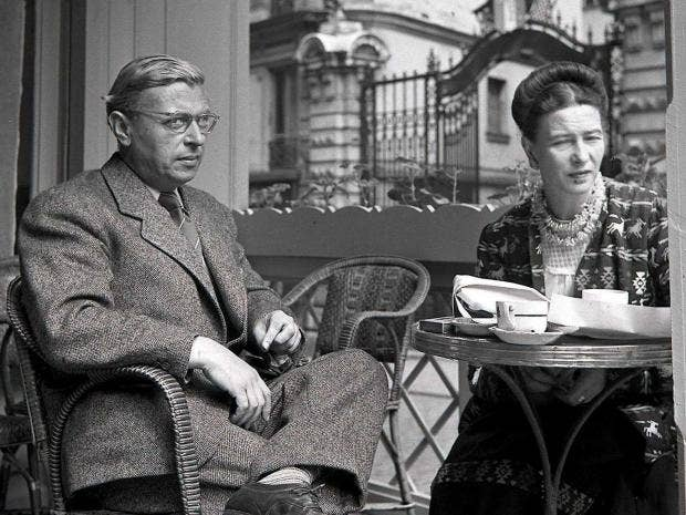 john paul satre Jean-paul sartre was an influential french philosopher and writer who famously declared thathell is other people, and life is nausea when not caught up in his libertine sex life with fellow existentialist simone de beauvoir, sartre tripped balls and spoke to crabs.