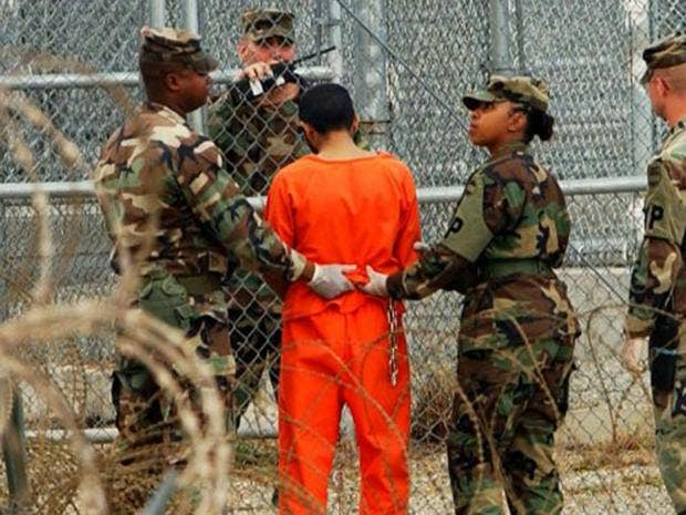Trump says freed Gitmo prisoners 'returned to battlefield'