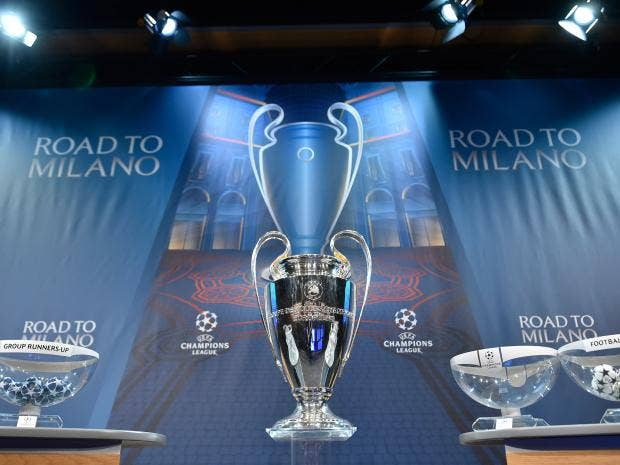 Champions league draw live manchester city draw psg barcelona face