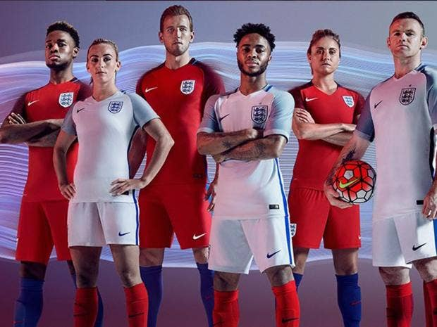 The new England kits made by Nike have caused quite a stir  twitter.com/england