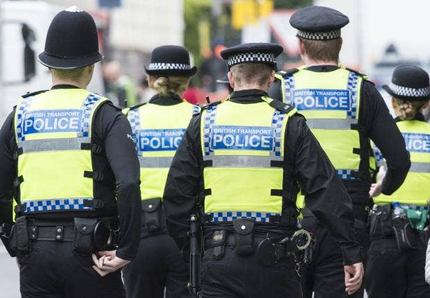 rise in number of police officers taking sick leave due to stressful work the independent