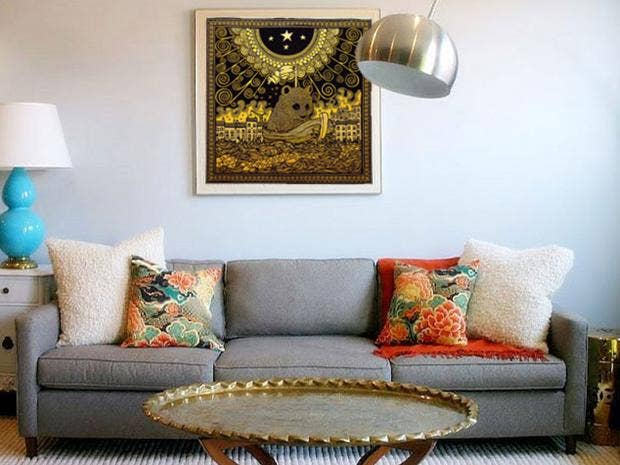Captivating 11 Ways To Make Art Work For Your Space Idea