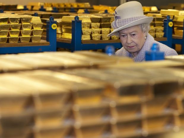 Gold Hidden In Secret Vaults Beneath The Bank Of England
