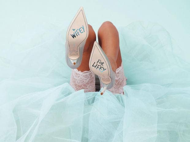 if youve long been lusting after a pair of designer shoes then your wedding day is a very good excuse to treat yourself weve sifted our way through