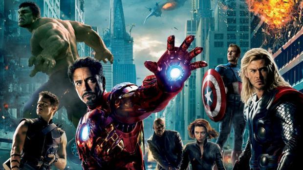 The Avengers - Magazine cover