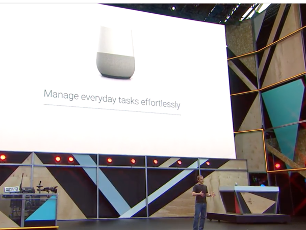 Google I/O 2016: Search giant unveils \'Google Home\', the speaker ...