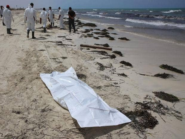 74 dead migrants washed ashore in Libya