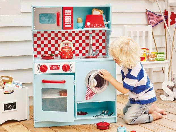 anyone with kids will know that they have a downright obsession with play kitchens donu0027t ask us why but little ones love a bit of culinary pretend play