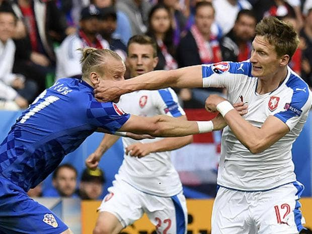 czech republic vs croatia player ratings who impressed in saint etienne the independent. Black Bedroom Furniture Sets. Home Design Ideas