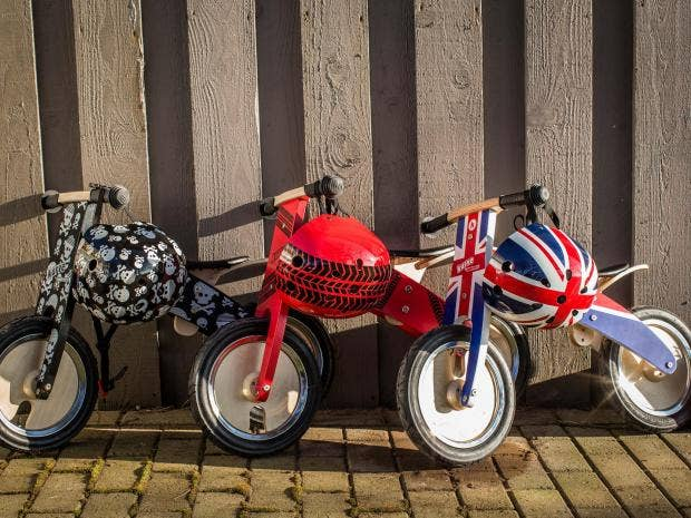 balance bikes look just like regular bicycles but without the pedals and thereu0027s one simple but major reason all youngsters should have one