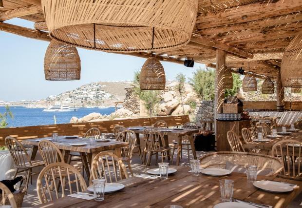 Restaurant Avec Terrasse Ds Le