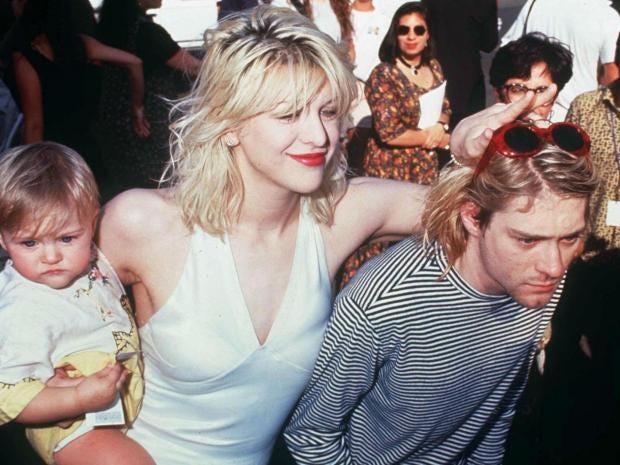 Courtney Love marks birthday by posting tribute to Kurt ...