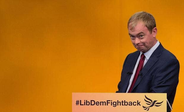 Lib Dem leader Tim Farron issues appeal to Labour and Tory moderates