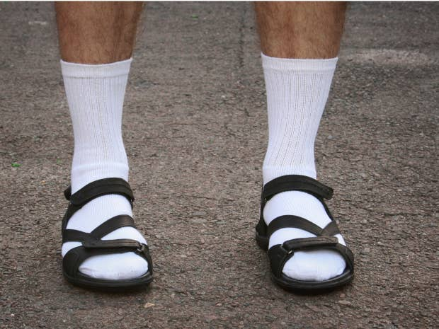 Socks and sandals: The unlikely hottest new trend in men's ...