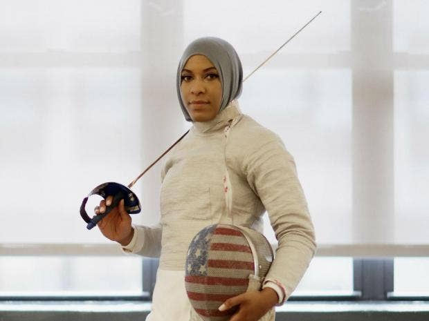 Rio 2016 Meet America S First Muslim Olympian To Wear A