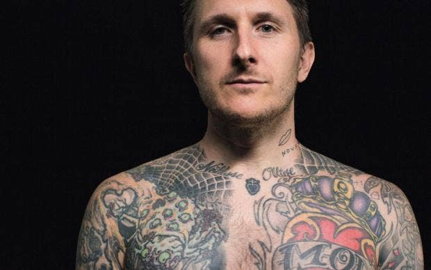 tattoo artist scott campbell people talk about tattoos being permanent but skin is the most. Black Bedroom Furniture Sets. Home Design Ideas