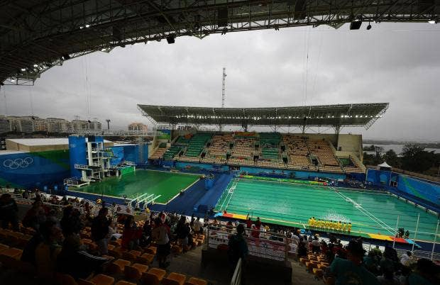 the us water polo team said the chlorine levels were making it difficult to see following his teams 6 3 victory over france reuters